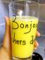 喝喝喝!自制的玉米汁、火龙果酸奶、西红柿汁、梨汁