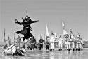 清代皇家冰嬉再现昆明湖 明天起北海公园也将连续举办五天冰嬉表演