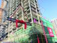 本市首栋超高层钢结构保障房项目黑庄户安置房项目全面封顶
