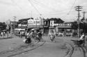 1956年北京的街头巷尾城市生活