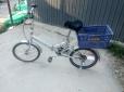转让二手折叠自行车