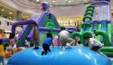 【晒暑期】难得有空带孩子来玩空气蹦床!