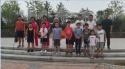 新时代文明实际之望京西园三区体育公园志愿者活动