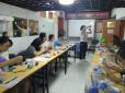南湖中园社区风华尽在指间沙- 沙画制作活动