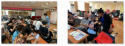 望京街道大西洋社區新時代文明實踐活動——教老年人玩轉智能手機