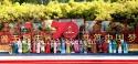 【老照片】奥森国庆游园会看中央民族歌舞团演出