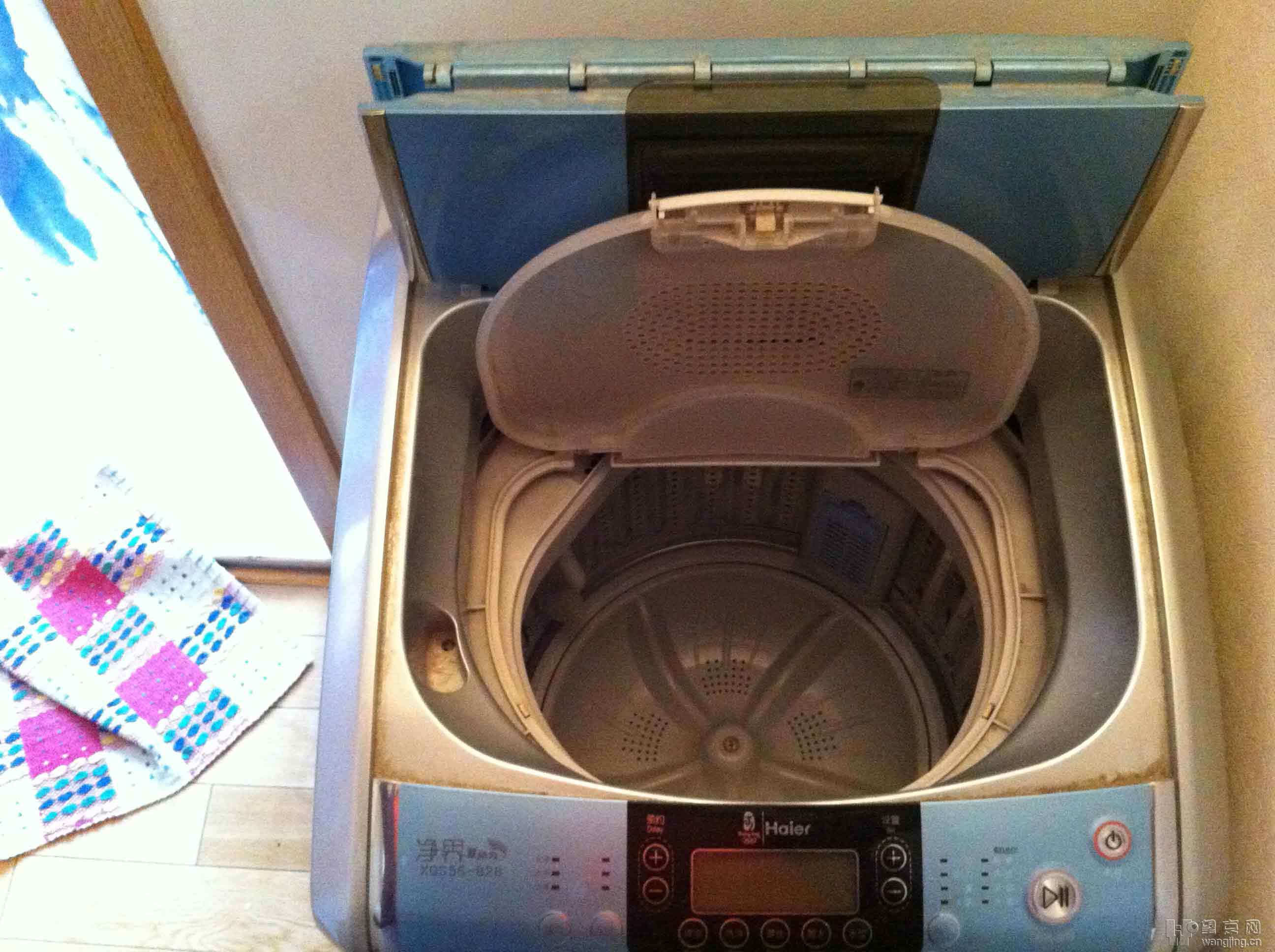 因为搬家转让海尔全自动洗衣机一台,挺好用的。十分钟速洗、可自动根据衣物多少自动选择水位、可手动选择12档水位、2-24小时预约。 详细介绍见百度百科: http://baike.baidu.com/view/9899581.htm 请看图片: