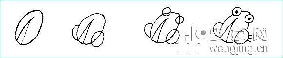 有趣的儿童简笔画