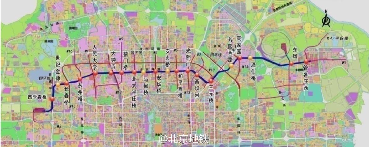 明年北京地铁3号线,12号线