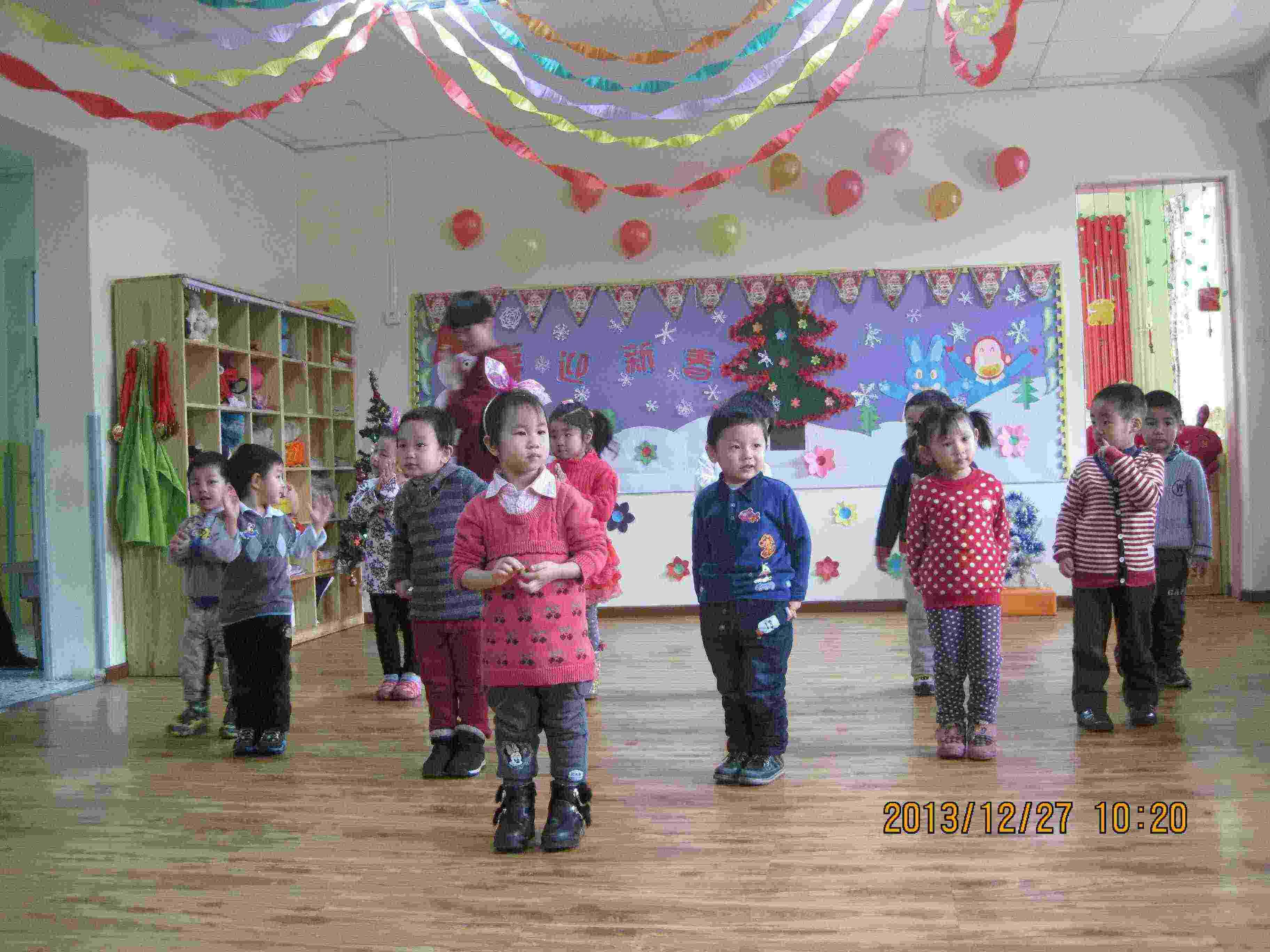 幼儿园新年联欢会!